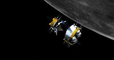 La nave espacial china inicia el regreso a Tierra con rocas lunares