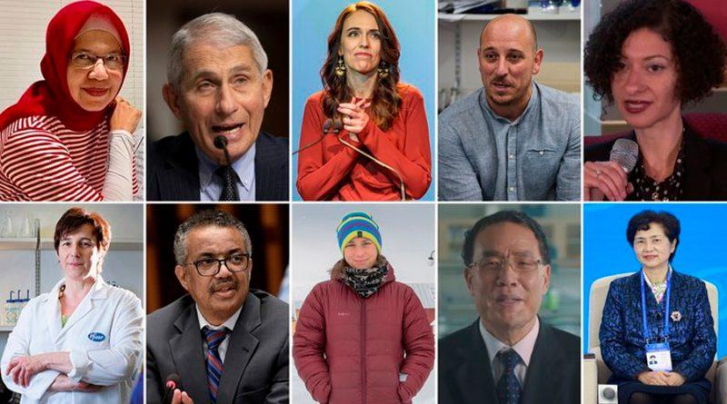 Difunde Nature a las diez personas clave para la ciencia en 2020