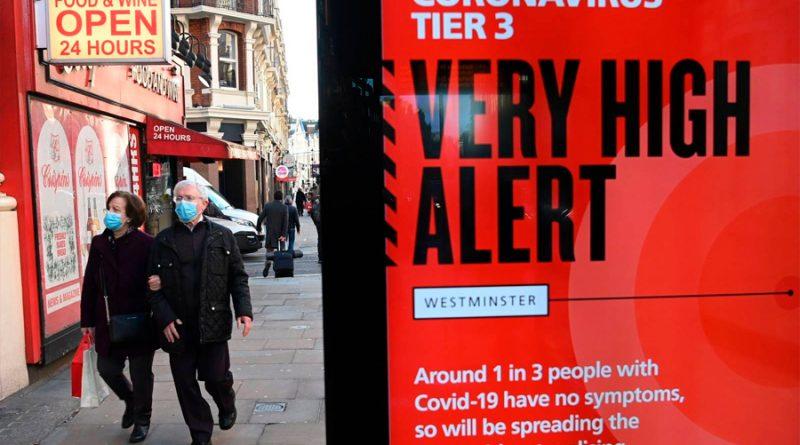 Nueva cepa de covid-19 se propaga más rápido, confirma Reino Unido