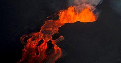 Volcán Kilauea de Hawái tuvo su erupción más grande en años