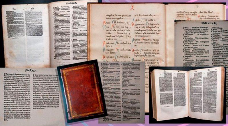 Investigadores descubren el diccionario más antiguo de la lengua castellana