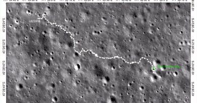 El rover chino en la cara oculta de la Luna supera los 600 metros