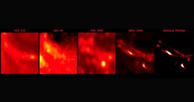 Nanollamarada: primera imagen de un enigmático fenómeno solar