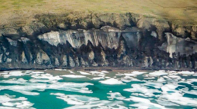 El carbono del Ártico supera al emitido desde la Revolución Industrial