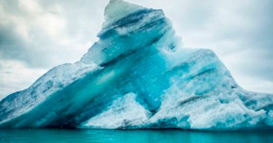 Iceberg A-68A, el más grande del mundo, se hace pedazos
