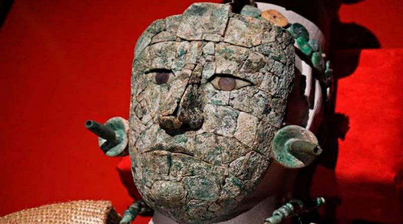 ¡Se resolvió el enigma! UNAM identifica materiales de la máscara de la Reina Roja de Palenque