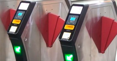 El metro de Pekín estrena unos nuevos torniquetes inteligentes con cámaras binoculares