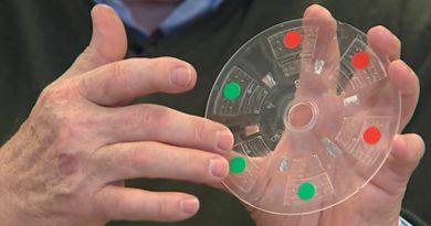 Crean un lector de DVD que detecta el coronavirus