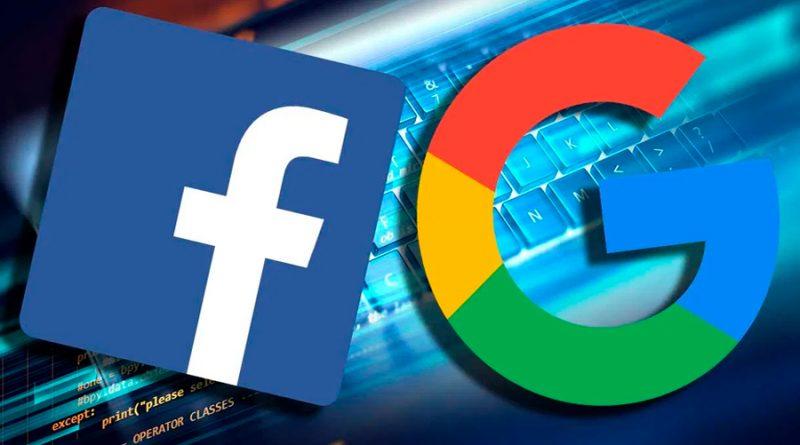 Google y Facebook trabajarán juntos ante posible demanda antimonopolio