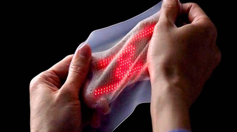Crean una piel electrónica sensible para inteligencia artificial