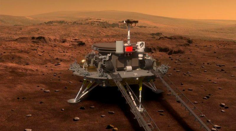 Sonda china entrará en la órbita de Marte en febrero