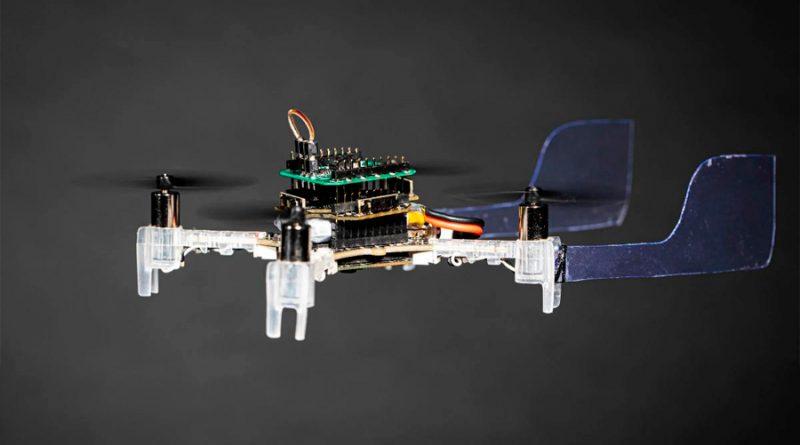 Un dron capaz de detectar los olores, no es broma, tiene una antena de polilla en su interior