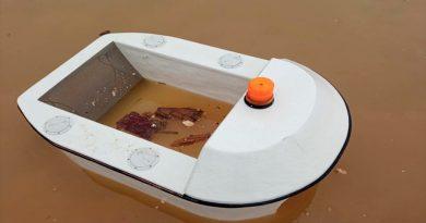Este robot acuático recoge la basura que nosotros dejamos en el mar