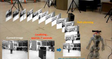 Investigador mexicano desarrolla técnica para mejorar la navegación de robots humanoides