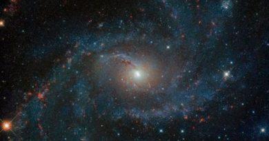 """El telescopio Hubble obtuvo una impactante imagen de la """"galaxia de los fuegos artificiales"""""""