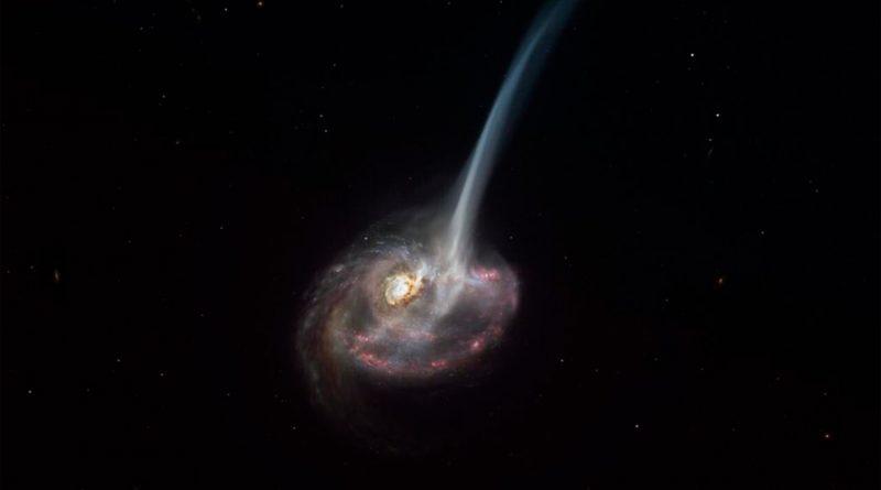 Captan por primera vez el comienzo de la muerte de una galaxia