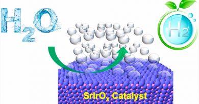 Más cerca de producir hidrógeno del agua de forma masiva y eficiente