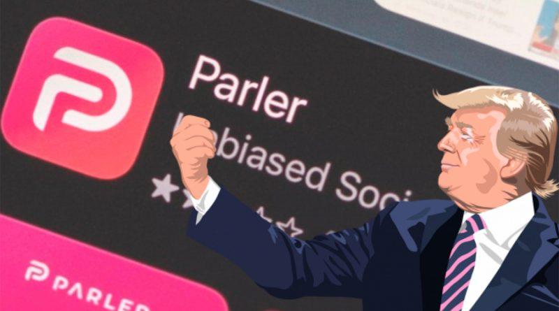 Desactivan la red social Parler, usada por simpatizantes de Trump
