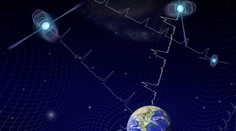 Primeros indicios de un fondo de ondas gravitacionales
