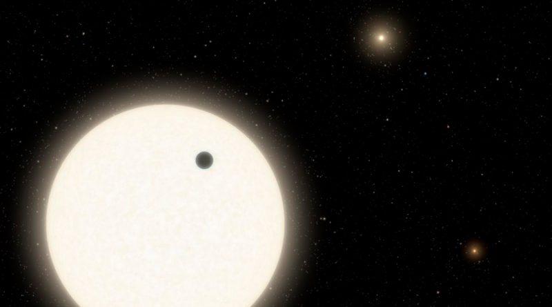 La NASA encuentra un mundo con tres soles