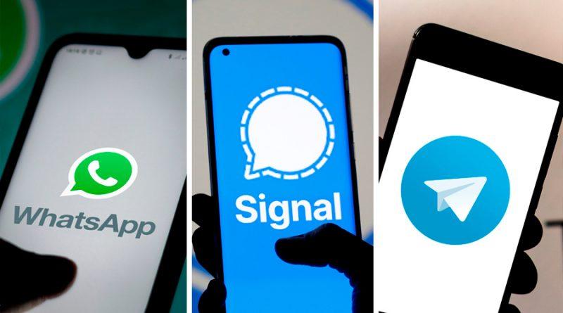 En qué se diferencian Signal y Telegram de WhatsApp y cuál ofrece más privacidad