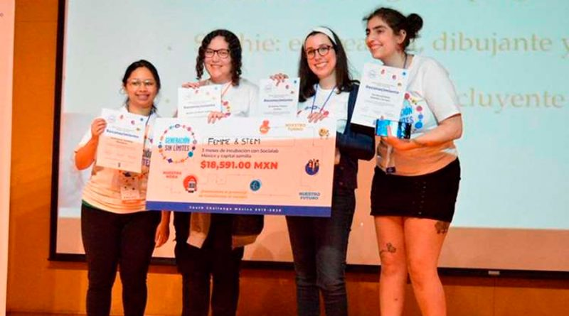 Jóvenes mexicanas triunfan en concurso convocado por UNICEF