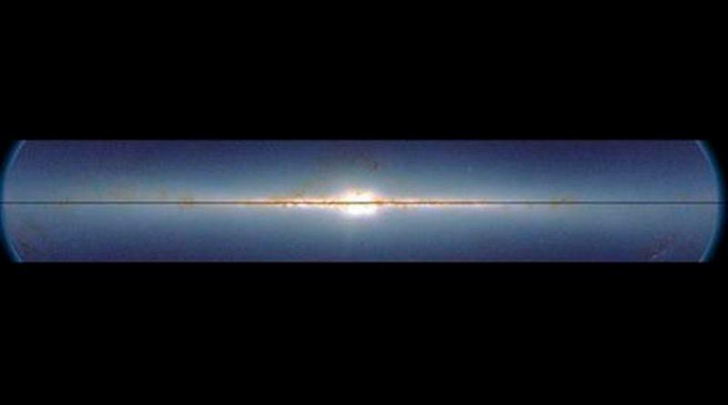 """La Vía Láctea hace """"la ola"""" cada 440 millones de años"""