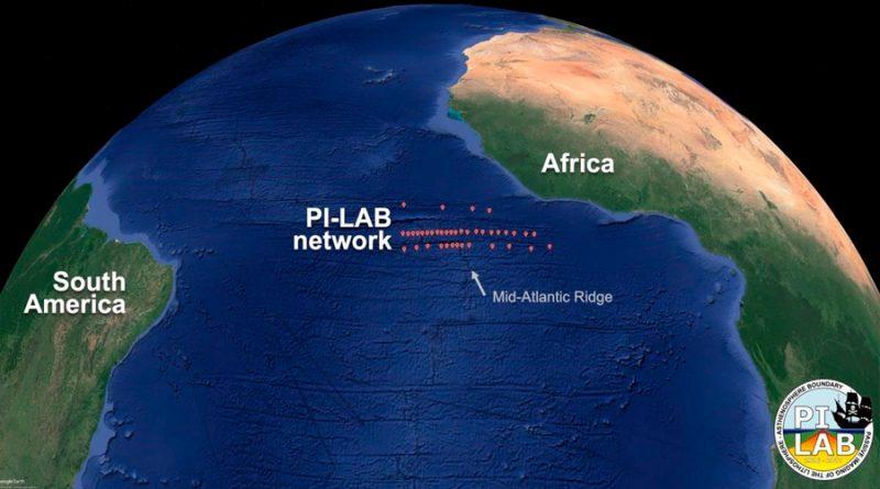 Un fenómeno geológico está ensanchando el Océano Atlántico