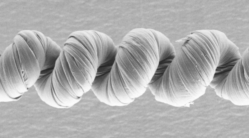 Nuevos músculos artificiales a base de nanotubos de carbono