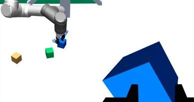 Un brazo robótico virtual logra enseñar a otro a resolver distintas tareas