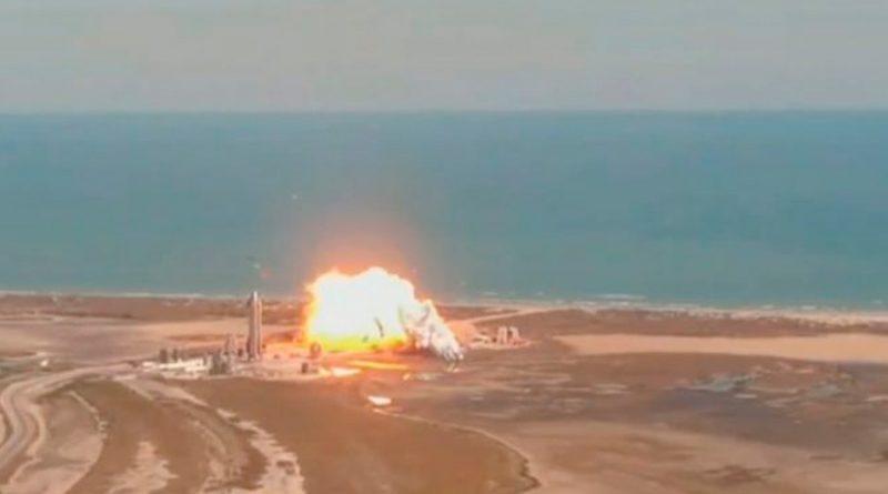 Prototipo de cohete SpaceX estalla al aterrizar; es el segundo caso en dos meses