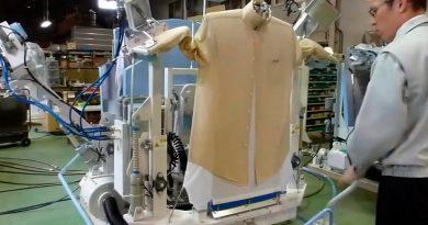 La querrás en tu casa: esta máquina plancha 120 camisas en una hora, y funciona con energía solar