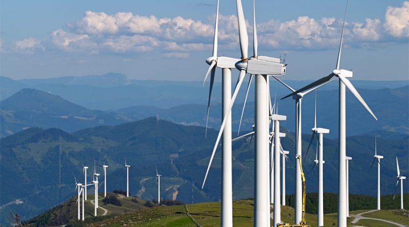 La energía eólica abastece un 7,5% de la demanda eléctrica mundial
