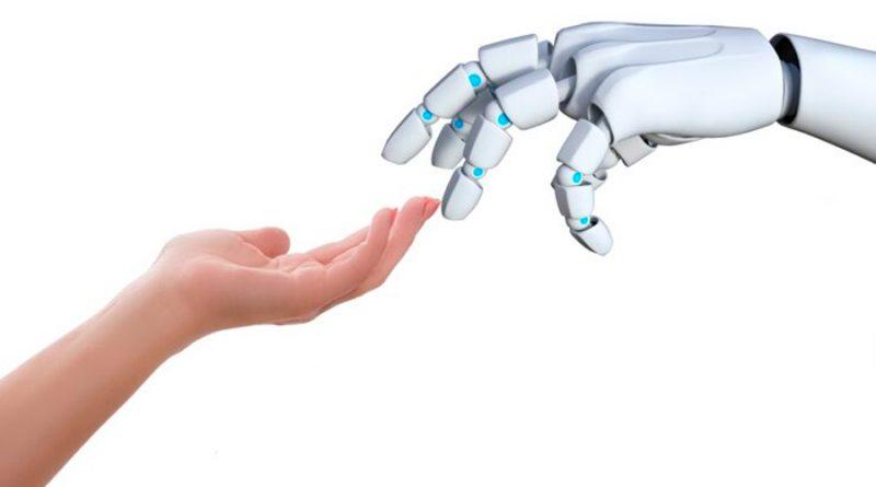 Una nueva piel artificial permite a los robots percibir el tacto humano