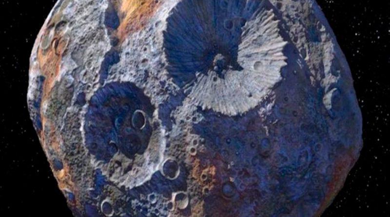 La NASA lanzará misión al asteroide Psyche 16, que vale más que toda la economía global