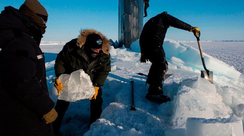 Científicos descubren que el Océano Ártico tuvo agua dulce debajo de su capa de hielo