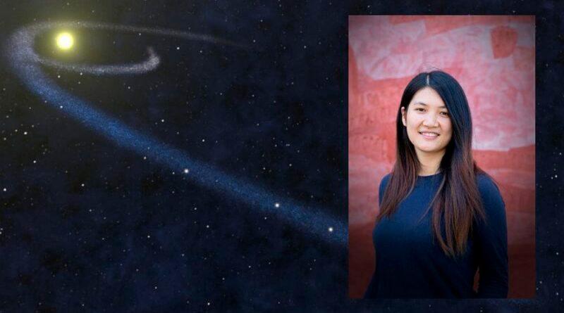 Una estudiante de astrofísica encuentra materia galáctica perdida