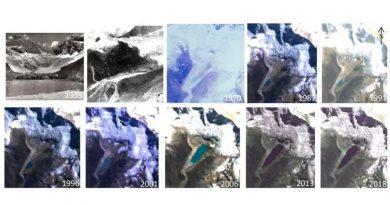 El cambio climático antropogénico derrite el glaciar peruano de Palcaraju