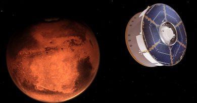 Tres exploradores están listos para llegar a Marte