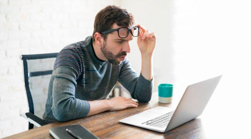 La distancia a la que debes estar del ordenador para cuidar tus ojos