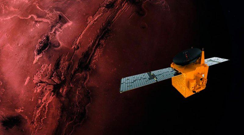 La sonda árabe Hope se enfrenta a su arriesgada llegada a Marte