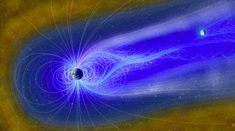 El agua puede ser creada en la Luna por la magnetósfera de la Tierra