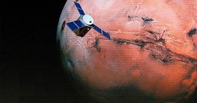 Misión árabe llega a la órbita de Marte
