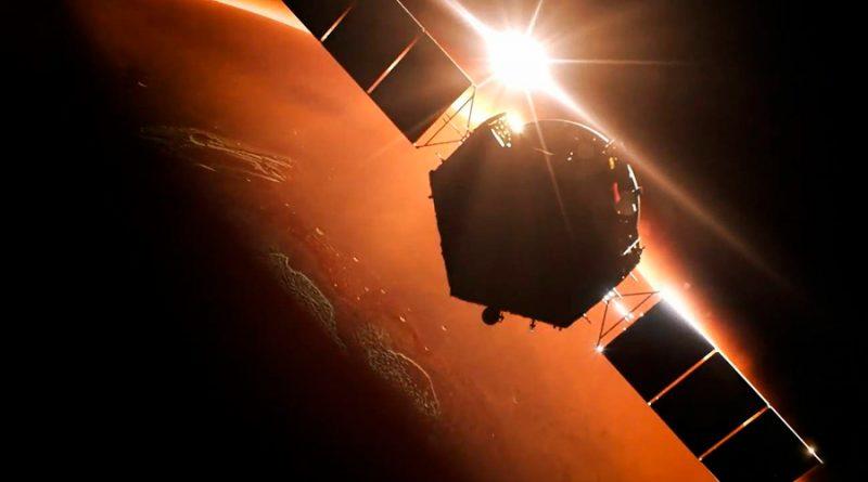 China alcanza la órbita de Marte con su misión Tianwen, que aterrizara en el planeta en mayo o junio