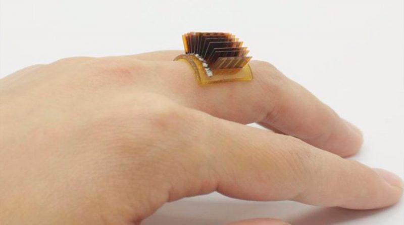Este anillo convierte el cuerpo en una batería