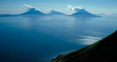 Varias islas de Alaska parecen ser parte de un mismo volcán sumergido