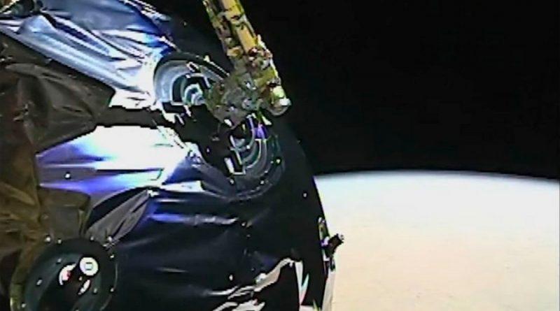Sonda espacial china envía video de Marte
