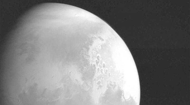 China difunde primeras imágenes de Marte captadas por su sonda Tianwen-1