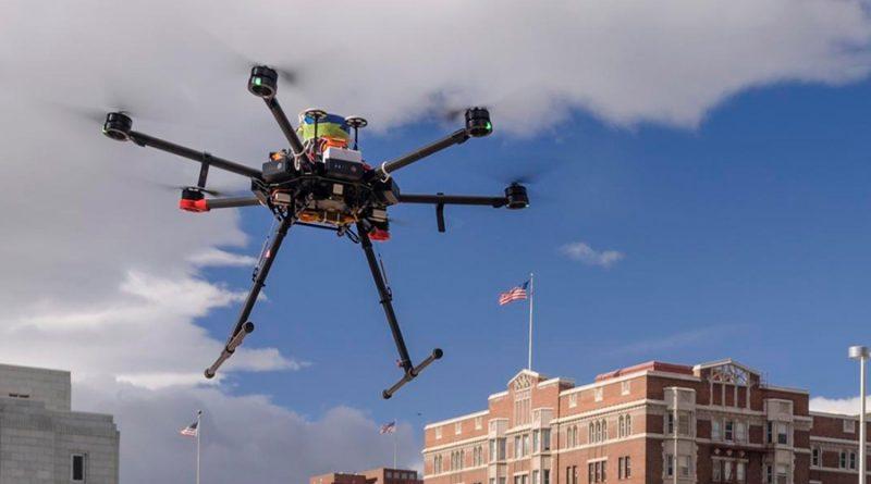 Crean una red cuántica con drones que impide el fisgoneo
