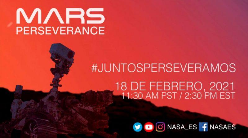 Por primera vez la NASA retransmitirá en español el aterrizaje en directo de la Perseverance en Marte